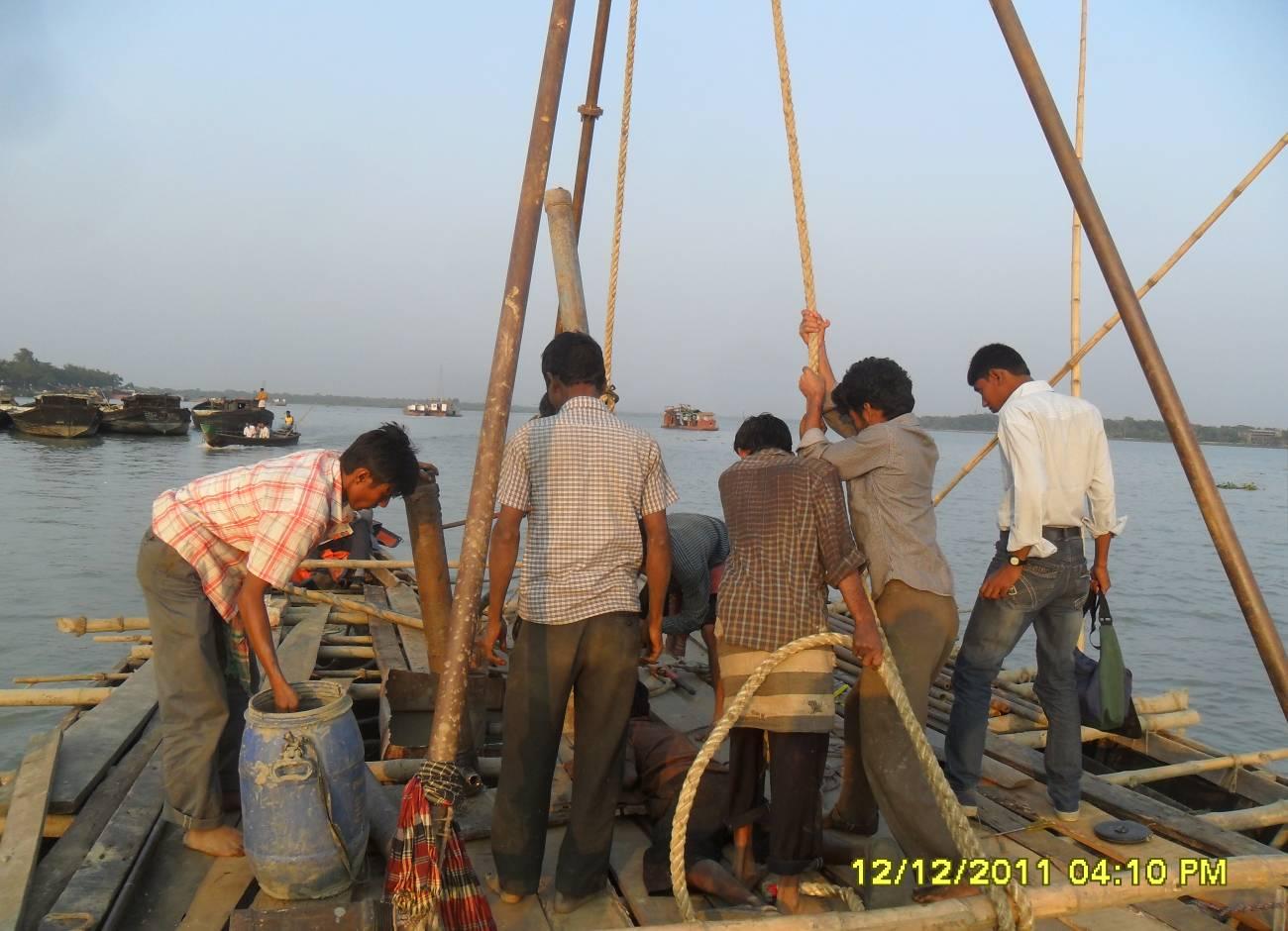 Geo technical investigation   Land Survey Team